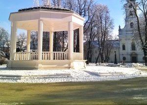 Trg_Eugena_Kvaternika_Bjelovar_zimi