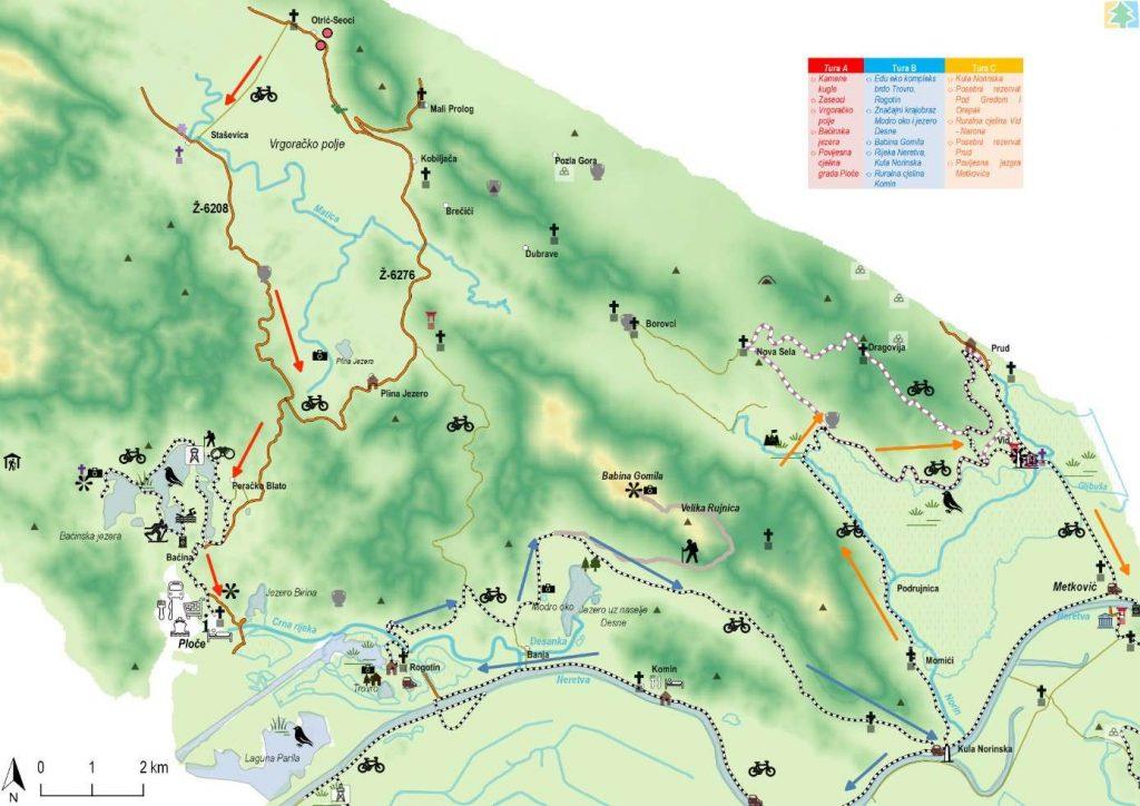 Akcijski plan upravljanja posjetiteljima u dolini Neretve