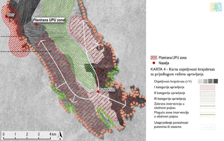 Konzervatorsko-krajobrazna studija za urbanistički plan uređenja zone ugostiteljsko-turističke namjene Preslop / Punta križa -T13