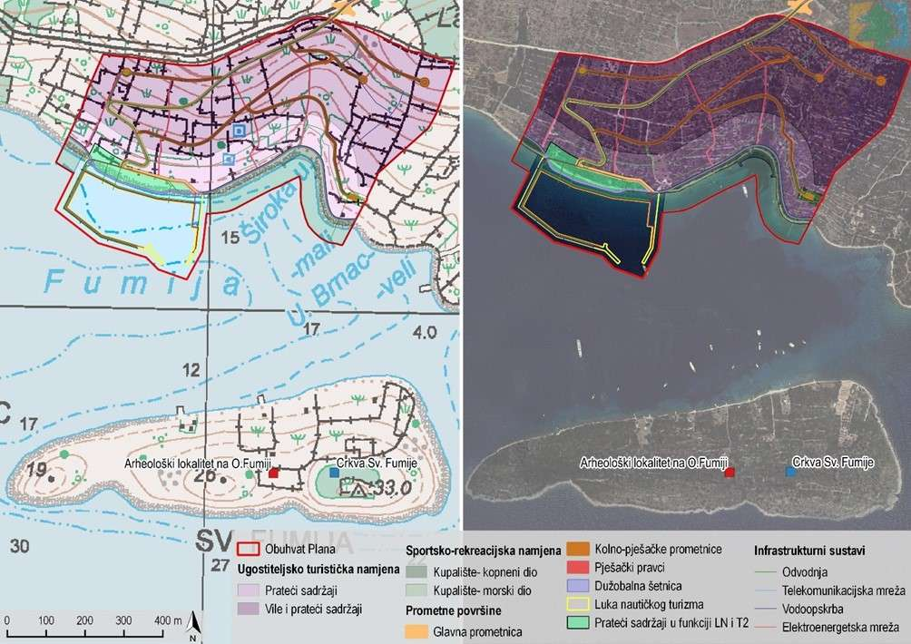 """Strateška studija utjecaja """"Izmjena i dopuna Urbanističkog plana uređenja turističke zone uvala Široka"""" na okoliš"""