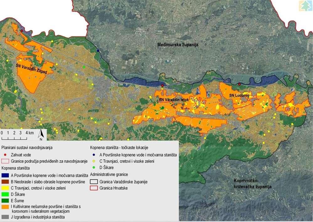 Strateška studija utjecaja na okoliš Plana navodnjavanja Varaždinske županije