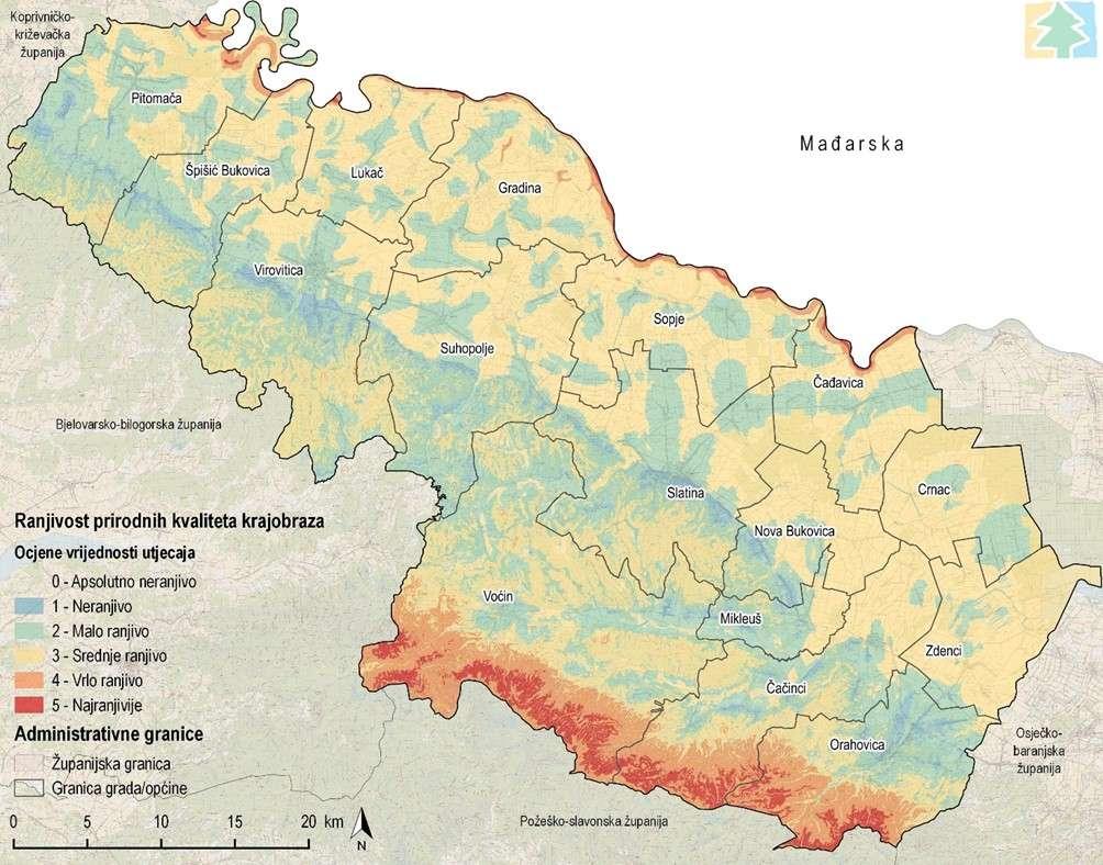 Strateška studija utjecaja na okoliš VI. Izmjena i dopuna Prostornog plana Virovitičko-podravske županije