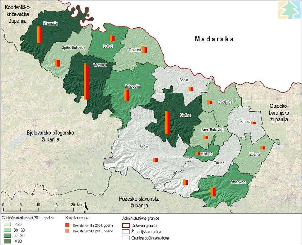 Strateška studija utjecaja na okoliš Županijske razvojne strategije Virovitičko-podravske županije do kraja 2020. godine