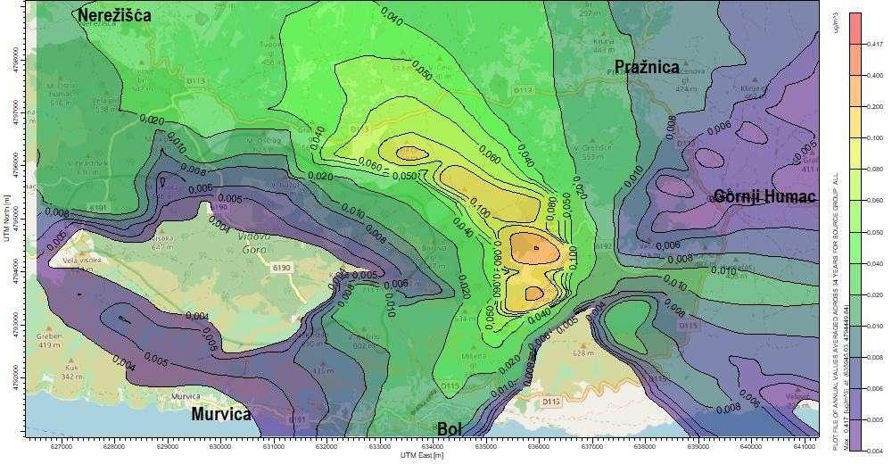"""Studija utjecaja na okoliš """"Produljenje i rekonstrukcija uzletno-sletne staze: Zračna luka Brač"""""""